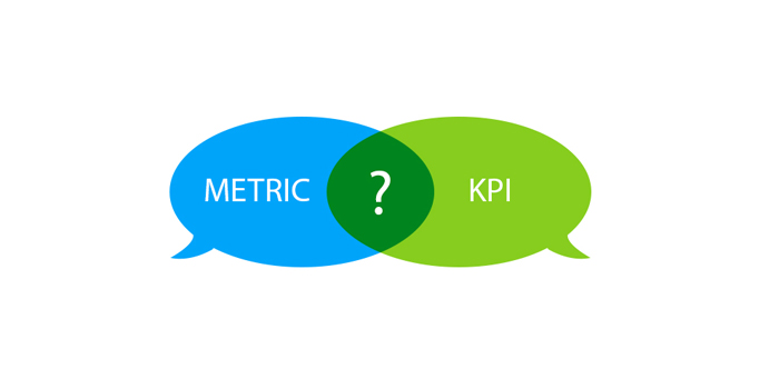 How to tell the difference between Metrics and KPIs